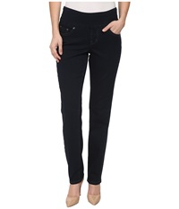 Jag Jeans Petite Malia Pull On Slim In After Midnight After Midnight Women's Jeans Black