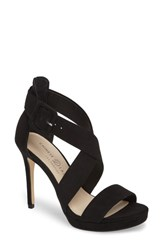 Chinese Laundry Foxie Cross Strap Sandal Black