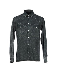 Surface To Air Denim Shirts Black