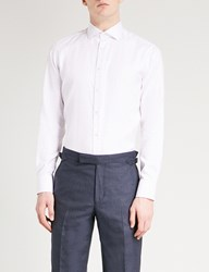 Smyth And Gibson Tailored Fit Cotton Shirt Pink