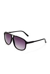 Forever 21 Tortoise Aviator Sunglasses Black