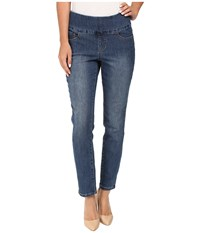 Jag Jeans Amelia Slim Ankle Comfort Denim In Blue Dive Blue Dive Women's