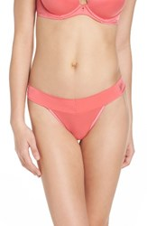 Betsey Johnson Women's 'Forever Perfect' Thong Passion Fruit