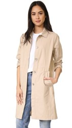 Baldwin Denim Imogen Lightweight Jacket Khaki