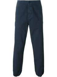 Aspesi Casual Trousers Blue
