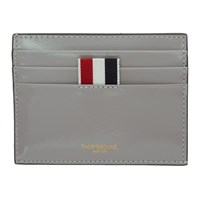 Thom Browne Grey Double Sided Card Holder