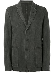 The Viridi Anne Two Button Blazer Men Cotton 5 Grey