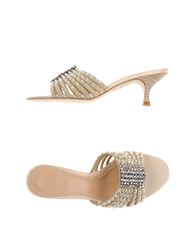 Maliparmi Footwear Sandals Women Beige