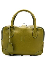 Golden Goose Deluxe Brand Small Equipage Tote Green