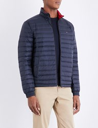 Tommy Hilfiger Down Filled Quilted Shell Jacket Sky Captain