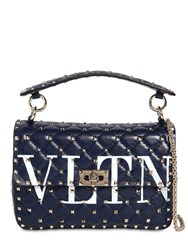 Valentino Garavani Candy Leather Bag Blue
