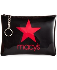 Macy's Star Pouch Red Black