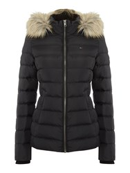 Tommy Hilfiger Thdw Basic Down Jacket Black