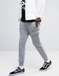 Aape By A Bathing Ape Joggers With Badge Print Pockets Gray