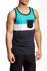 Burnside Pocket Tank Black