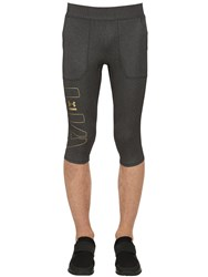 Under Armour Perpetual Printed Compression Pants Grey