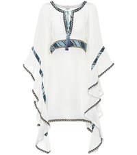 Talitha Embroidered Dress White