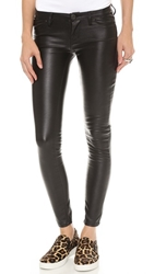 Blank Vegan Leather Skinny Pants