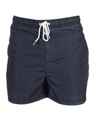 Franklin And Marshall Swim Trunks Black