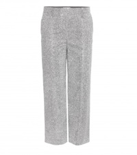 Edun Cropped Trousers Silver