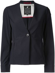 Loveless V Neck Blazer Blue