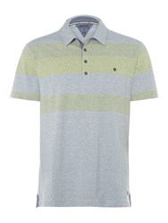 White Stuff Men's Innertube Polo Light Blue