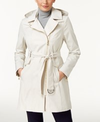Vince Camuto Asymmetrical Trench Coat Cashmere