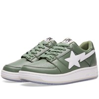 A Bathing Ape Shark Picture Sole Bape Sta Green
