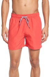 Ted Baker London Danbury Swim Shorts Red