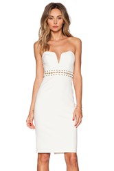 Bless'ed Are The Meek Eternal Strapless Dress Ivory