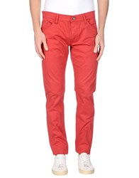 Liu Jo Jeans Casual Pants Red