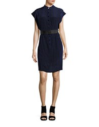 Tracy Reese Short Sleeve Shirt Dress