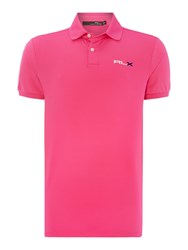 Rlx Ralph Lauren Performance Solid Polo Pink