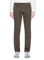 J Brand 'Kane' French Terry Pants Brown