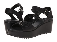 Wanted Linzer Black Women's Wedge Shoes