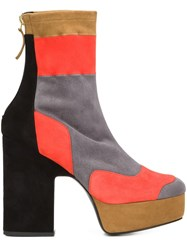 Pierre Hardy Colour Block Boots