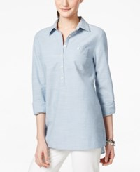 Tommy Hilfiger Pull Over Chambray Tunic Shirt