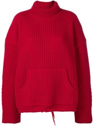 Undercover Knitted Jumper Red