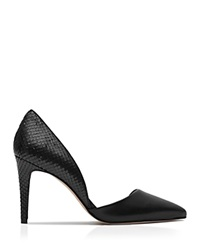 Reiss Pointed Toe D'orsay Pumps Brina High Heel