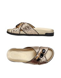 Jeannot Sandals Gold