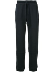 Woolrich Straight Leg Track Pants Blue