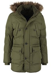 Sisley Down Coat Khaki