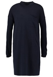 Noisy May Nmwinnie Jumper Dress Navy Blazer Dark Blue