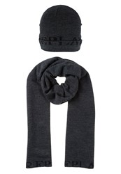 Replay Set Scarf Grey