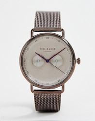 Ted Baker George Mesh Watch Copper
