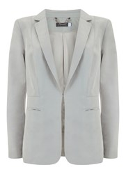 Mint Velvet Chalk Easy Boyfriend Blazer White