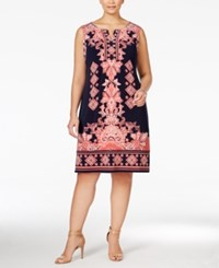 Jm Collection Woman Jm Collection Plus Size Printed Sheath Dress Only At Macy's India Wonder