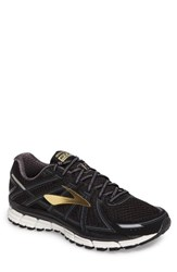 Brooks Men's Adrenaline Gts 17 Running Shoe Black Anthracite Gold