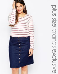 Alice And You Ribbed Stripe Long Sleeve Top Multi