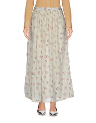 Local Apparel Long Skirts Ivory